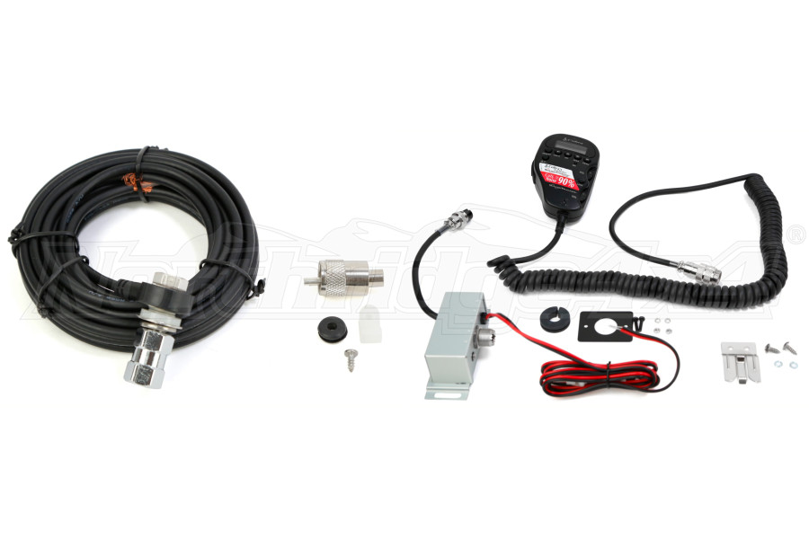 cb distrbuting cobra 75wxst cb w  18 u0026 39  coax cable  u0026 firestik package jeep rubicon 2007
